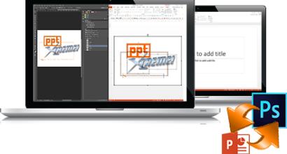pptXTREME Photoshop Import